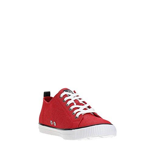 Arnorld Klein Sneaker Calvin Uomo Rosso Indigo Denim Jeans nOx8Bv