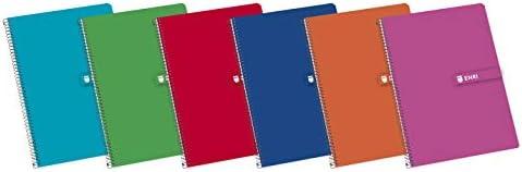 Cuadernos Folio(A4) Enri. Pack 5 unidades. Tapa Dura. 80 Hojas ...