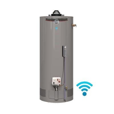 Rheem Performance Platinum 50 gal. Short 12 Year 40,000 BTU Energy Star Natural Gas Water Heater
