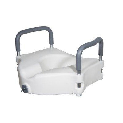 RTL12027RA - Elevated Raised Toilet Seat with Removable P...