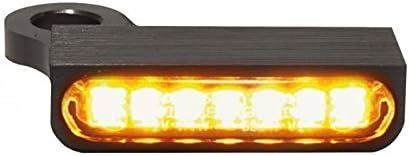 HeinzBikes LED Armaturen Blinker SPORTSTER Modelle 14- schwarz 883 N Sportster Iron