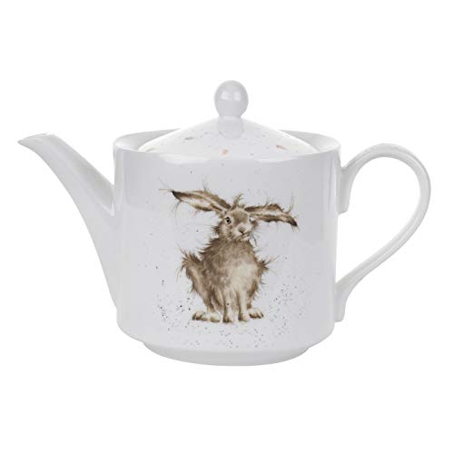 - Wrendale by Royal Worcester Hare Teapot