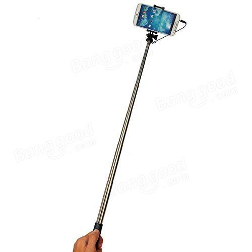 Universal Accessories - Universal Mini Folding Handheld Self Portrait Stick Extendable Monopod Holder Stick - Hand-Held Cling Nightstick Truncheon Joystick Billy Put Forward Around - 1PCs outlet