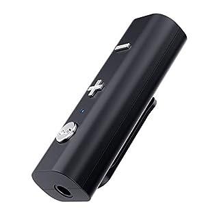 Baoer Bluetooth 5.0 Receiver for 3.5mm Jack Earphone Clip Type Wireless Adapter Bluetooth Aux Audio Music Transmitter
