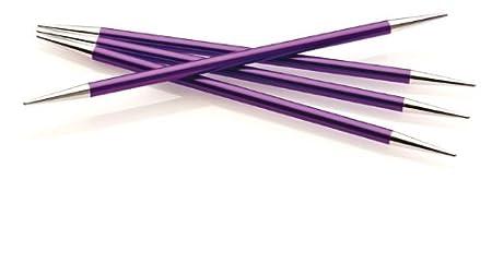 Double Point Knittin Needle, US 4, Stiletto/Stiletto Point, Set of 5 Needle