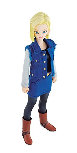 Dimension of DRAGONBALL Android 18 (with initial award) about 185mm PVC & Polyester & ABS-painted action ()