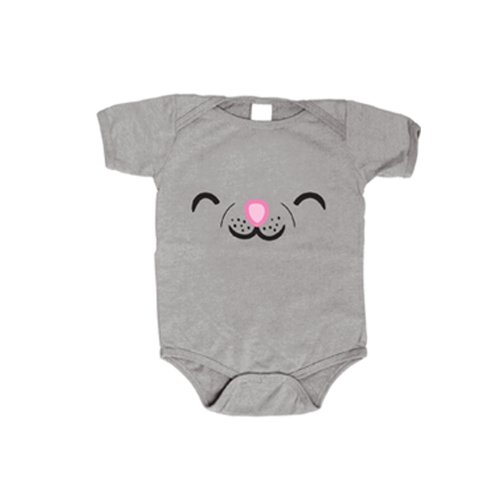 The Big Bang Theory Soft Kitty Face Costume Baby Onesie Romper (3-6 Months)]()