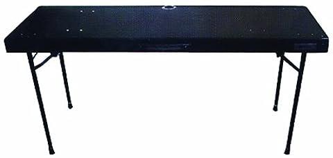 Odyssey CTBC2060 Carpeted Folding Dj Table With Adjustable Leg System (DJ Equipment)