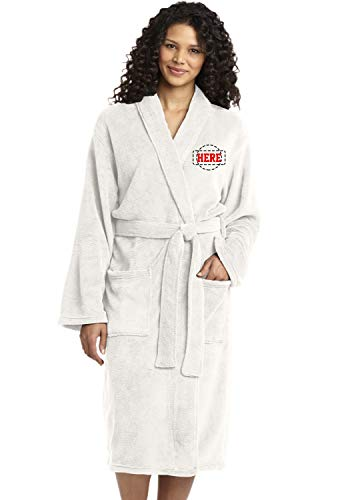 (Personalized Embroidered Robes - Custom SPA Robe - Monogrammed Bathrobes)