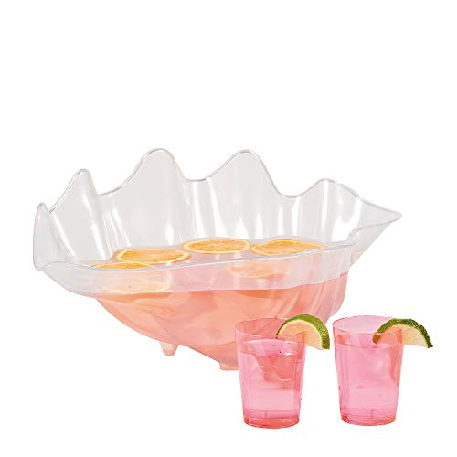Fun Express Large Plastic Seashell Bowl