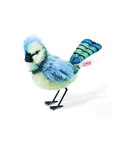 (Steiff Limited Edition Mohair Skye Blue Jay Bird #668517)