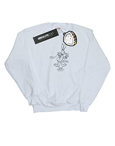 Tunes White Camisa Absolute Bugs Hombre Entrenamiento Cult Blanco De Bunny Looney Belly E8wwqFg4