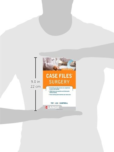 Case Files Surgery, Fourth Edition (LANGE Case Files)