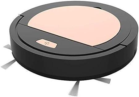 Robot Aspirador de pelo del animal doméstico, Barrer y trapear 3 en 1, succión fuerte, ultra silencioso, control de APP, SelfCharging, limpia la alfombra, madera, baldosas, Negro (Color: Rosa) (Color:: Amazon.es: Hogar