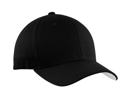 Flexfit Baseball Caps in 12 Colors. Sizes S/M - L/XL Black