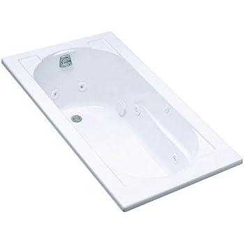 Kohler K 1357 0 Devonshire 5 Foot Whirlpool White