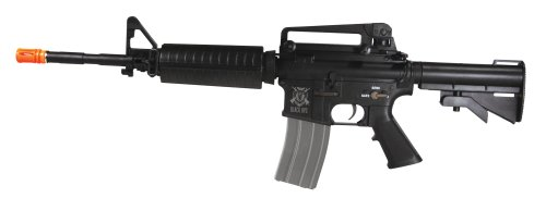 Black OPS Tactical M4 Viper Assault Air Soft Rifle Full Meta