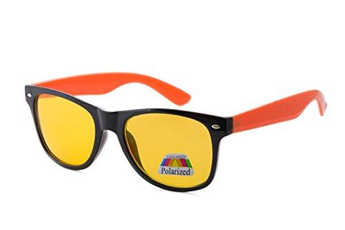 de para Gafas Orange Polarized sol morefaz hombre q801w51x