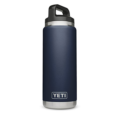 - YETI Rambler 26 oz Stainless Steel Vacuum Insulated Bottle with Cap, Navy