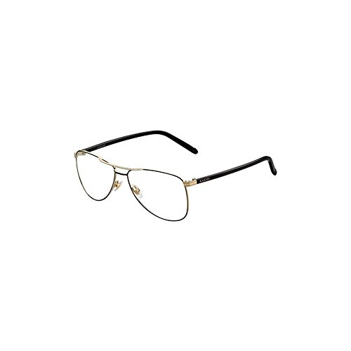 Gucci GG4218 Eyeglasses-0WRU Black Gold-55mm