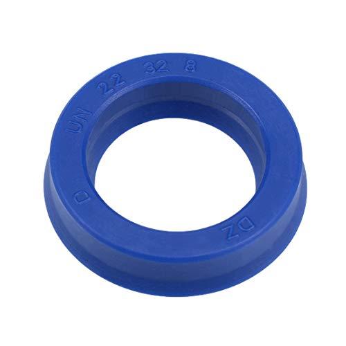 uxcell Hydraulic Seal, Piston Shaft U32i PU Oil Sealing O-Ring, 22mm x 32mm x 8mm