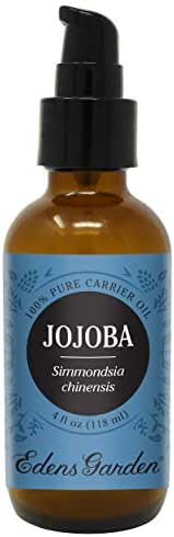Edens Garden Jojoba Carrier Oil (Best For Mixing With Essential Oils), 4 oz