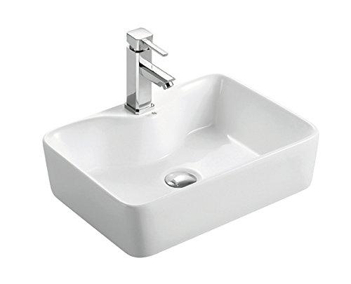BHD 7013–Ceramic Sink, White by BHD