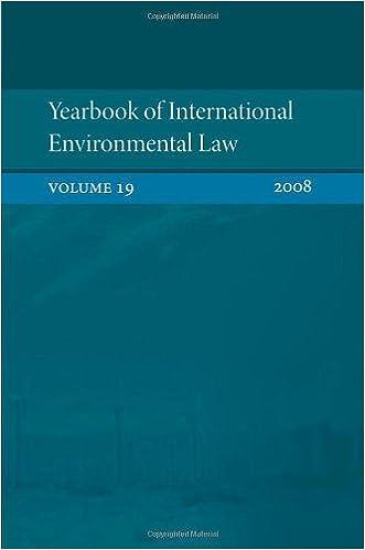 Yearbook of international environmental law