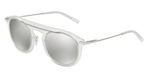 Dolce & Gabbana Women's 0DG2169 Clear/Silver/Grey Mirror Silver - Sunglasses Dolce Mirror And Gabbana