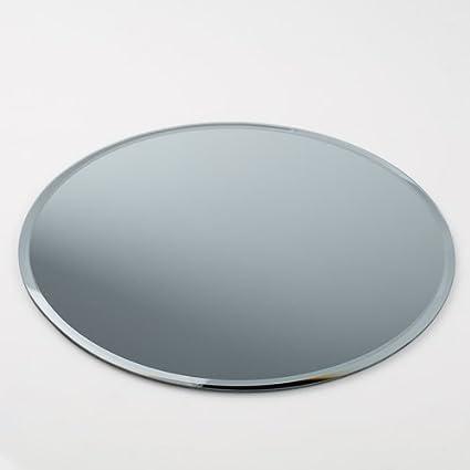 Ordinaire Eastland 12u0026quot; Round Beveled Centerpiece Table Mirror