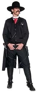 Smiffy's - Disfraz de sheriff del oeste para hombre, talla única (36340)