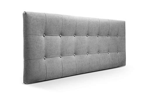 suenoszzz especialistasdeldescanso suenoszzz en + 2 Tables tapizadas avec 3 tiroirs Mod Lisse lit de 200 Medida: 210 cm x 57 cm x 6 cm. Tissu Chenille - Motif Rustique à Carreaux