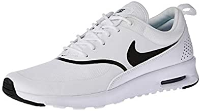 Nike Women's Air Max Thea Trainers, White/Black, 6 US