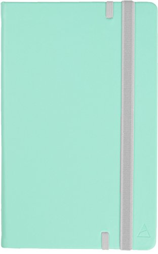 Nomatic Notebook (Mint)-240 Ruled Pages, Hard Cover, Perforated Pages, Built-in Pen Holder, Whiteboard Paper