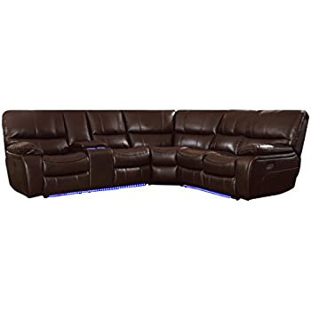 Amazon Com Blackjack Furniture 9917 Dark Brown Raf Chs