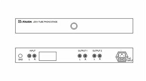 Where to buy Jolida Audio – JD9 – Tube Phono Preamp in Black – Upgraded
