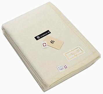 a9426ae1690c9 公式三井毛織 国産 洗える 家蚕 シルク毛布 (毛羽部) シングルサイズ 140x200cm ナチュラル