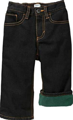 Performance Pants Micro Fleece - Old Navy Boys Micro Performance Fleece Lined Jeans Eternal Emiral (4)