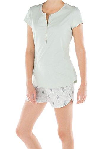 Calida - Pijama - para mujer folkstone grey