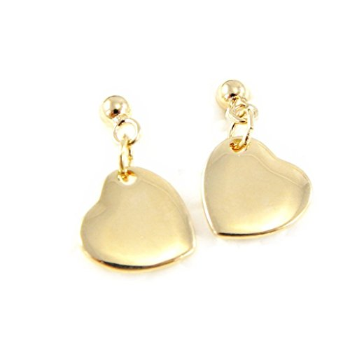 Reverence Costumes (Earrings plated gold 'Love Reverence' .)