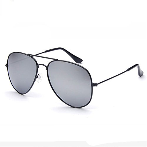 Z-P Unisex Classical Metal Frame Color Film Lens - Oval Suit Face Sunglasses What Of An Type