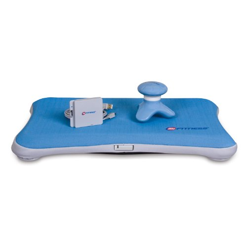 dreamGEAR Nintendo Wii 3-in-1 24 Hour Fitness Kit (blue)