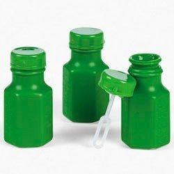 Mini Hexagon Green Bubble Bottles (4 dz) by Fun (Green Bubbles)