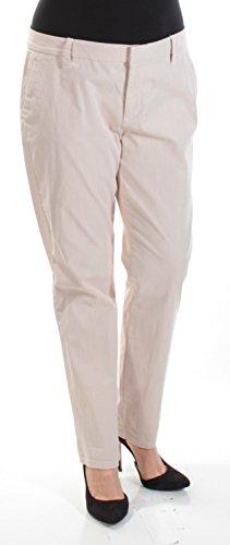 - Tommy Hilfiger Womens Hampton Straight Leg Weekend Chino Pants Tan 12
