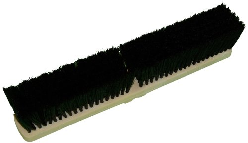 (Zephyr 39804 Tampico Fiber Poly Block Push Broom, 24