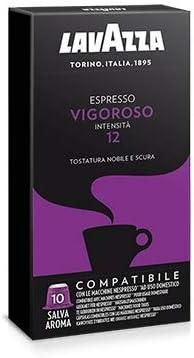 100 capsule caffè Lavazza compatibili NESPRESSO MISCELA VIGOROSO