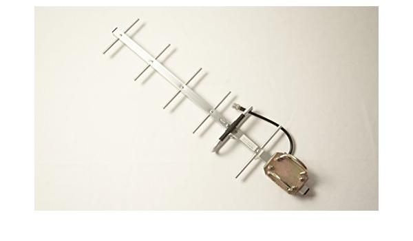 850 MHz Antena Yagi serie | 806 – 896 MHz, 10dBi 52deg ...