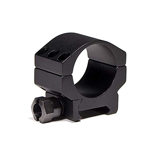 Vortex Optics Tactical 30mm Riflescope Ring - Low Height [0.83 Inches | 21.0 mm] (30mm Rings Profile Scope Low)