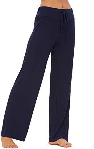 Houmagic Women's Pajama Sleep Bottoms Modal Comfy Lounge Pants M-3XL