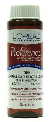 Extra Light Beige Blonde Permanent Hair (Beige Extra Light)